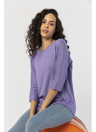 Şimal Bluz Lila